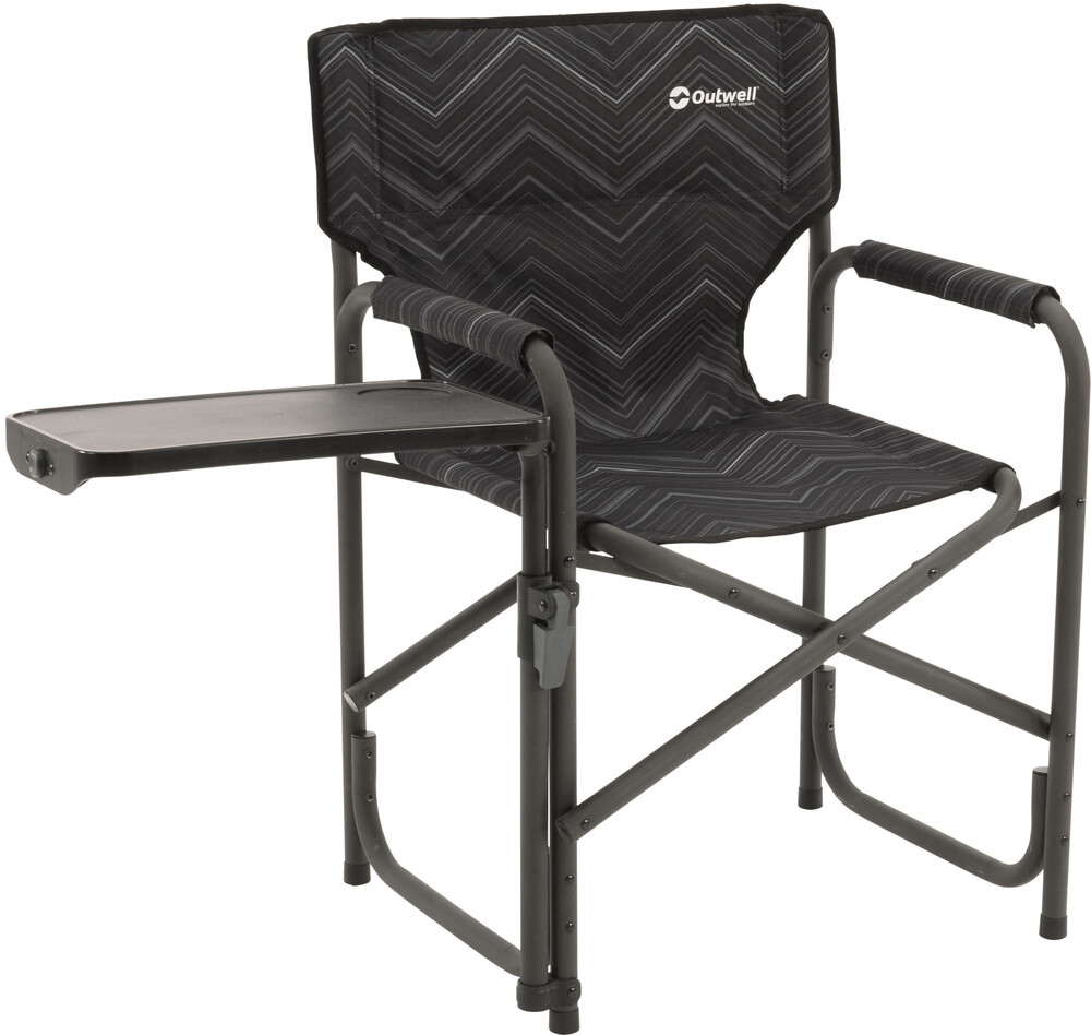 coleman folding chair with side table covers for christening outwell chino hills black | campz.de